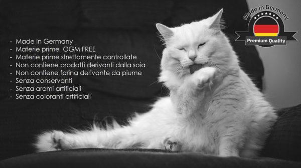 Croccantini per gatti CRISS gusto Pollame 8 sacchi da 1 kg