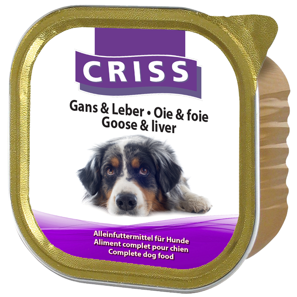 Scatolette per cani CRISS Patè kit assaggio patè 3 gusti 6x300gr
