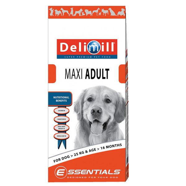 Crocchette per cani adulti Delimill Essential Maxi Adult sacco da 15 kgda 15 kg