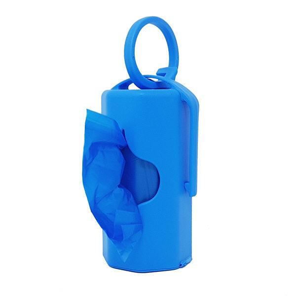 dispenser blu con 20 sacchettini profumati