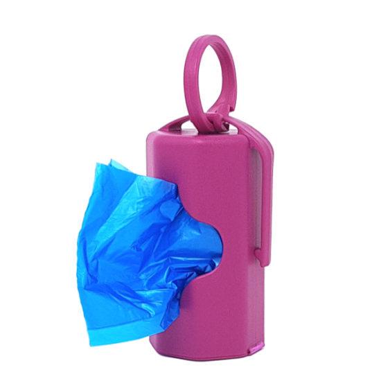 dispenser rosa con 20 sacchettini profumati