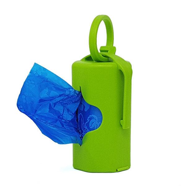 dispenser verde con 20 sacchettini profumati
