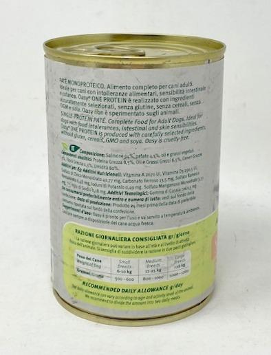 Salmone 400 gr cane ingredienti